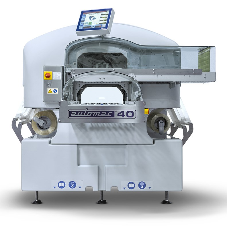 automac 40 fully automatic stretch wrapping machine